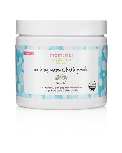 Mambino Organics Soothing Milk and Oat Bath, 4 Ounce