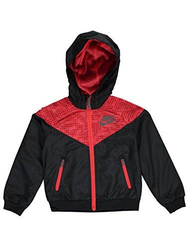 Coat Vintage Nike - Nike Little Boys Dri-Fit Track Jacket (Sizes 4-7) - Black, 4