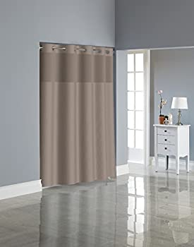 Hookless RBH80MY221 Dobby Textured Shower Curtain