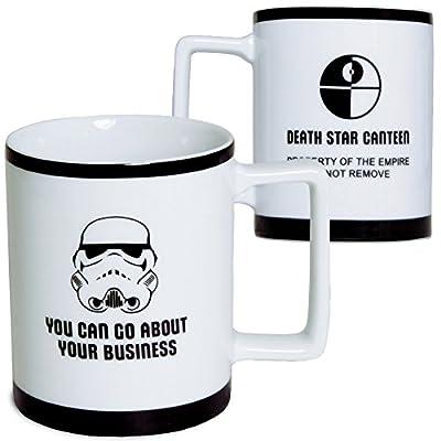 Underground Toys Star Wars Coffee Mug - 10 oz Stormtrooper Imperial Porcelain