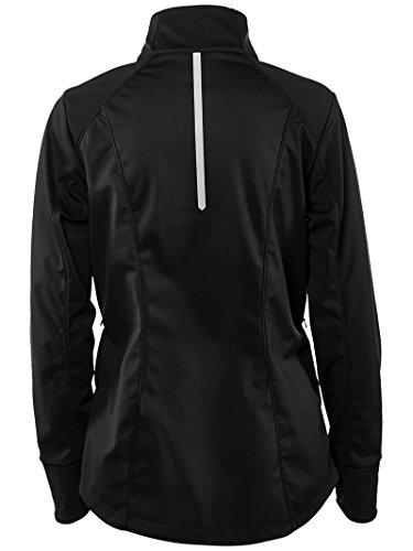 ASICS Womens Softshell Jacket, Performance Black, Large by ASICS (Image #1)