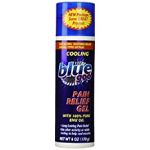 Blue Goo - Cooling Pain Relief Gel with 100% Pure Emu Oil - 6 oz.