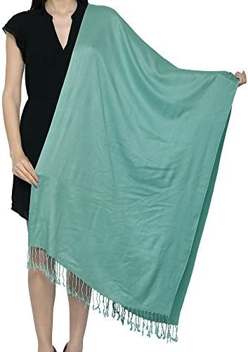 World Of Shawls Uni*** Plain Pashmina Scarf Shawl Stole Wrap High ...