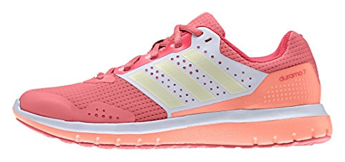 adidas Damen Duramo 7 Laufschuhe Rot (Super Blush S16/Dust Met. S09/Shock Red S16)