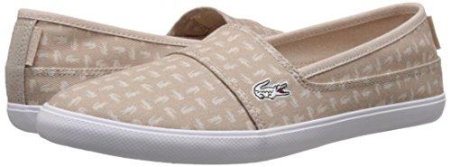 Lacoste Women's Marice Slip On Fashion Sneaker, Natural, 10 M US