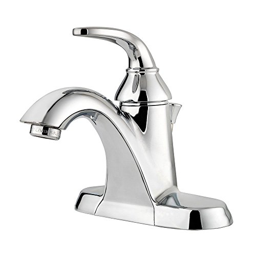 Price Pfister LF042PDCC Pasadena Pfister Single Control 4 Inch Centerset Bathroom Faucet, Polished (Price Pfister Metal Pop Up Faucet)