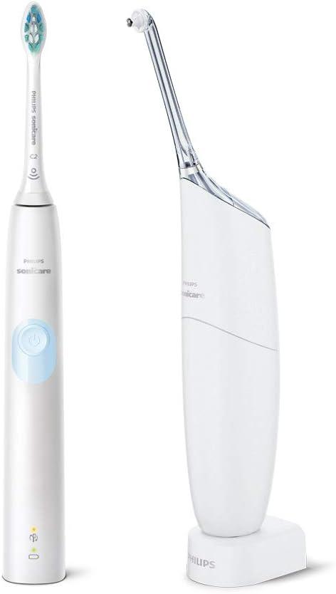 【Amazon.co.jp限定】フィリップス ソニッケアー プロテクトクリーン ホワイトライトブルー 電動歯ブラシ + エアーフロス ウルトラ HX8492/75