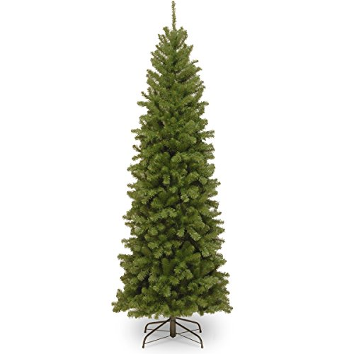 National Tree North Valley 6 Foot Spruce Pencil Slim Tree (Artificial Pencil Trees Christmas)
