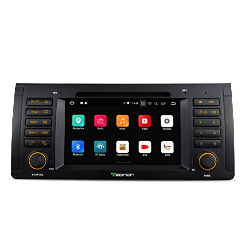 (Car Stereo Radio, Eonon Android 8.0 Car Head Unit,in Dash Touch Screen Car Radio 4GB RAM 32GB ROM Octa-Core 7 Inch Radio Applicable to X5 1999-2005 (E53),Support Dual Bluetooth,WiFi,Fastboot-GA9166A)