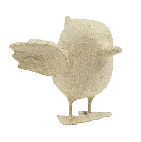- décopatch Mache Robin Bird, 17 x 11 x 14 cm, Brown