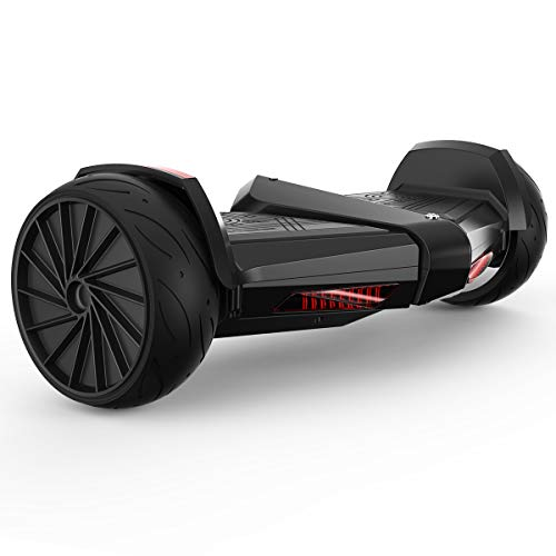 HoverJet Premium 8.5″ Hoverboard Self-Balancing Scooter LED Light Exhaust Smoke Bluetooth Speaker UL Certified for Kids and Adult