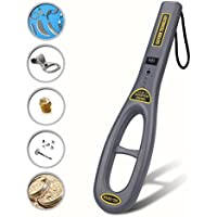 PiscatorZone Metal Detector Portable Handheld GP-Pointer Treasure Finder with High Sensitivity for Locating Gold, Coin,Silver,Jewelry (GC-101H)