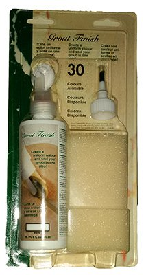 R&D Technical Solutions FRDGF02 ALMOND Ultimate Grout Finish, Almond, 8-oz. - Quantity 6