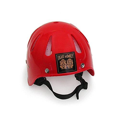Light Monkey Diving Helmet - Red