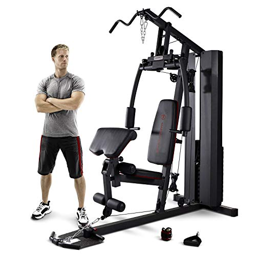 Marcy Stack Dual Function Home Gym - 200 lb. Stack MKM-81010 (Best Multi Station Home Gym)