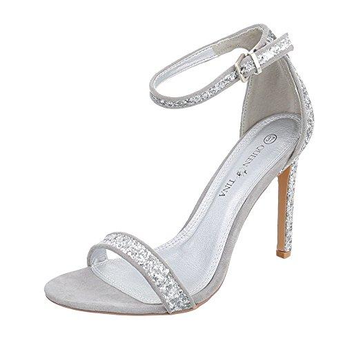 Ital-Design - Plataforma Mujer Silber B501YH-PB