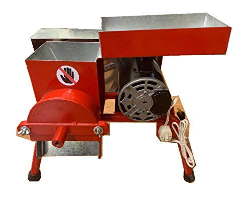 Made in Mexico Professional With Legs 1/2 HP Motor Authentic Mexican Electric Feed/Flour Grain Cereals Coffee Wheat Wet&Dry Corn Mill Grinder Molinos Trituradores Electricos Con Patas (Molino De Maiz)