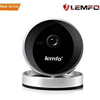 LEMFO Home Security Network Camera Wireless/Wired Plug/Pan/Tilt/Zoom Wireless IP Security Surveillance System 720p HD Night Vision