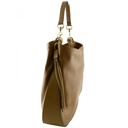 Woman Made Tuscan Color Woman Shoulder In Leather Bag Leather Cognac Bag Italy w8BvHqwx7