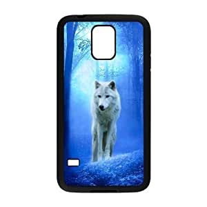 James-Bagg Phone case Wolf love noon,wolf pattern For Samsung Galaxy S5 FHYY449600