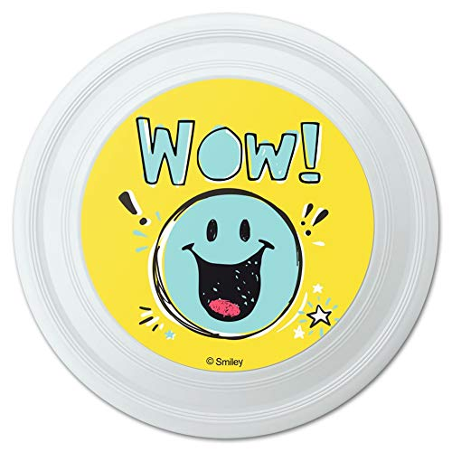 GRAPHICS & MORE Wow Smiley Face Officially Licensed Novelty 9