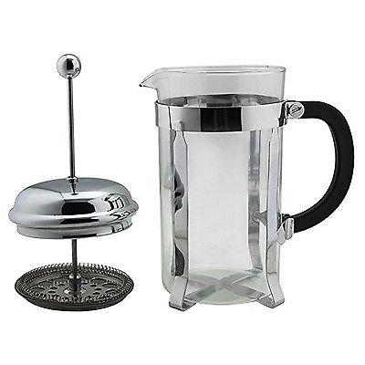 french press coffee maker leaf tea carafe stainless steel filter 34oz kettle pot buy online in. Black Bedroom Furniture Sets. Home Design Ideas