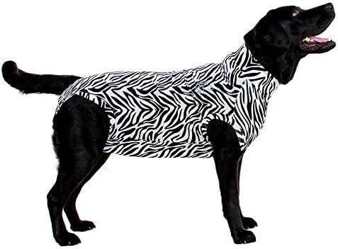 MPS, Medical Pet Shirt, Zebra-Druck, für Hund