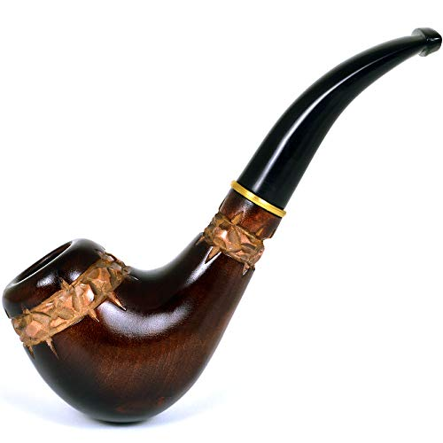 New Handmade carved Stylish pear tobacco smoking pipe | pipes - 6.1'' (15,5cm)