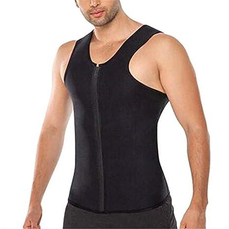 5043eda9ef Buy Petsdelite® Body Shaper Man Slimming Belt Belly Men Slimming Vest  Abdomen Side Zip Corset Neoprene Sweat Waist Trainer Male  B