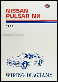 nissan pulsar wiring diagram manual nissan image 1988 nissan pulsar nx wiring diagram manual original nissan on nissan pulsar wiring diagram manual
