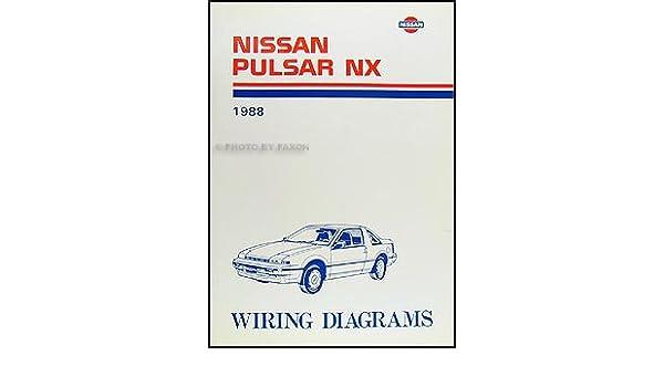 1988 Nissan Pulsar NX Wiring Diagram Manual Original: Amazon.com: Books