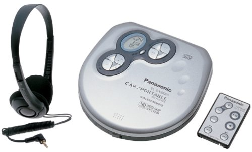 Panasonic SL-SX282C Portable CD Player with Car Kit and 40-Second Anti-Skip - Panasonic Car Stereo Remote