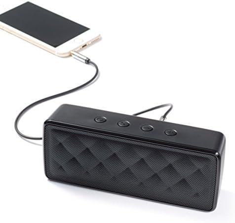 AmazonBasics Portable Wireless, 2.1 Bluetooth Speaker, Black 418BQPfvTyL