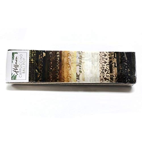 Hoffman Fabrics Bali Pop 2.5'' Strip 40 Piece Fabric, ()
