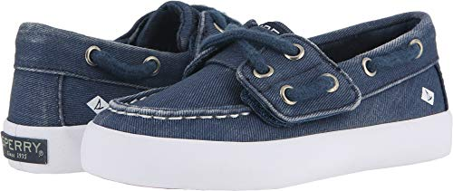 Sperry Top-Sider Tuck Junior Sneaker Big Kid 12 Saltwash Navy ()