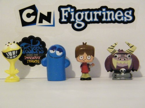 Fosters Home for Imaginary Friends Nickelodeon Mini Vending Toy Figure Set by Cartoon Network