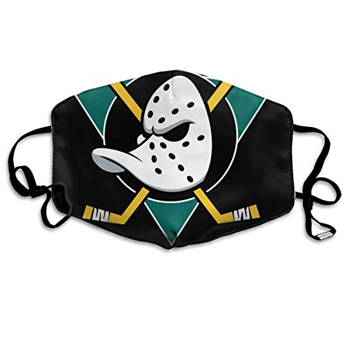 Rolvsx Mighty Ducks Unisex Mouth-Muffle Original Mask Dust-Proof