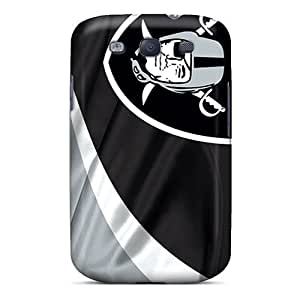 Premium Protection Oakland Raiders Case Cover For Galaxy S3- Retail Packaging