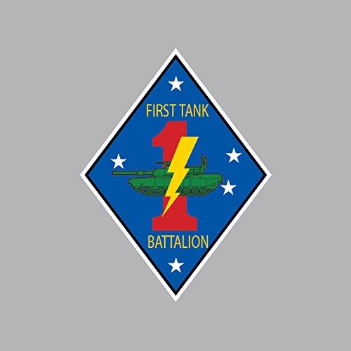 (2nd Battalion 7th Marine Regiment USMC Outline Sticker FA Graphix Vinyl Decal)