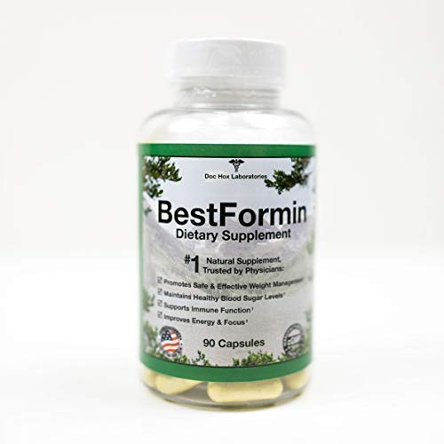 BestFormin - with Berberine: #1 Natural Support Healthy Blood Sugar & Cholesterol Levels, Weight Management, Boost Immune System. Money-Back Guarantee.