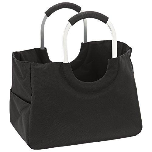 LOMOS Einkaufstasche, Größe L, in schwarz