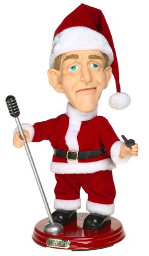 BING CROSBY SINGING DANCING CHRISTMAS FIGURE