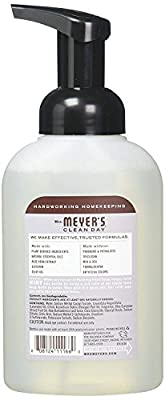Meyers 10 fl oz foam soap 10OZ Foam Hand lavender