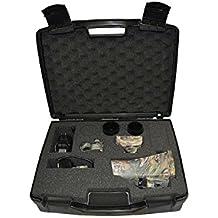 NiteSite Wolf 330 Yards Identification Range Scope Mounted Night Vision System for Zero Light Hunting (Black, Full Kit)
