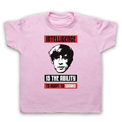 My Icon Little Boys' Steven Hawking Intelligence Ability Change T-Shirt, Light Pink, 1-2 (Change Kids Light T-shirt)