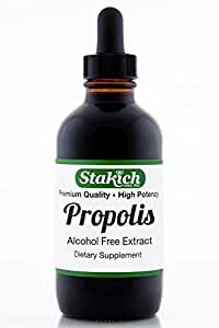 Stakich Bee PROPOLIS 1 oz Liquid Extract, Alcohol Free 30% - Top Quality -