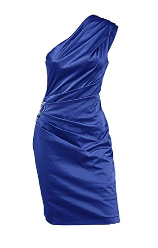 Abendkleid royalblau mit Strass Hochzeitskleid Designer Cocktailkleid 5XZqgxnA