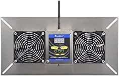 Durablow M2D-SH WiFi Smart Home Crawl Space Ventilator Fan Blower, Radon Mitigation...