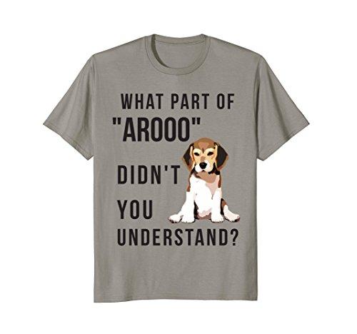 Mens Chicky Beagles T Shirt, Beagles Shirt Large Slate