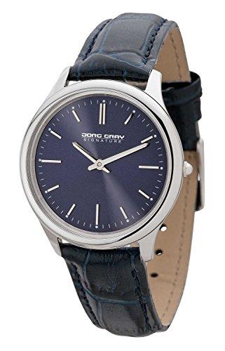 Jorg Gray JGS2551 - Wristwatch, Women, Leather, Color: blu